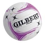 Gilbert Pulse Netball-White (Size 5)