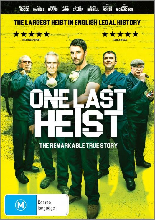 One Last Heist on Blu-ray