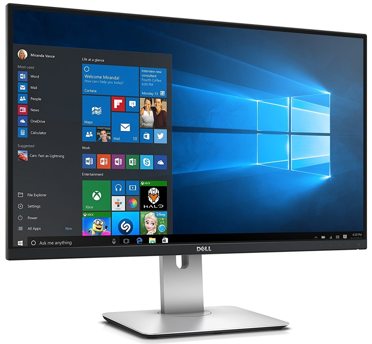 "27"" Dell UltraSharp U2715H QHD Monitor image"