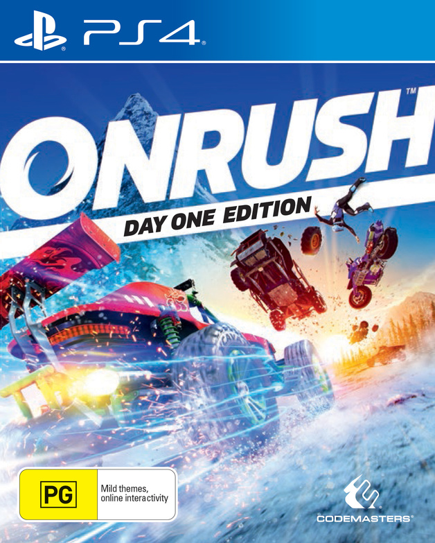 Onrush Day One Edition for PS4