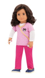 "Our Generation: 18"" Professional Vet Doll - Paloma image"