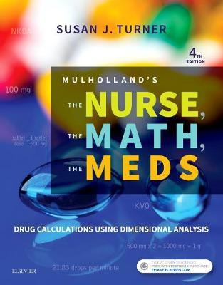 Mulholland's The Nurse, The Math, The Meds by Susan Turner image