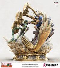 Hunter x Hunter: 1/6 Netero vs Meruem Elite Fandom Diorama - Statue