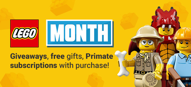 LEGO Month!