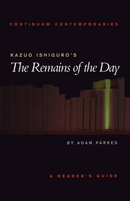 "Kazuo Ishiguro's ""The Remains of the Day"" by Adam Parkes image"