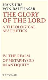 The Glory of the Lord: v. 4 by Hans Urs Von Balthasar image