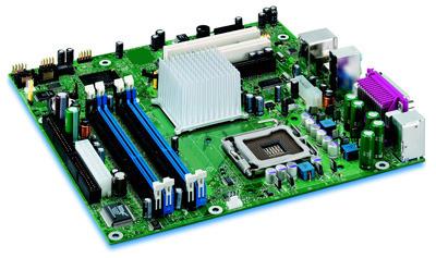 Intel D915GAGLKX Motherboard mATX DDR SATA PCIe