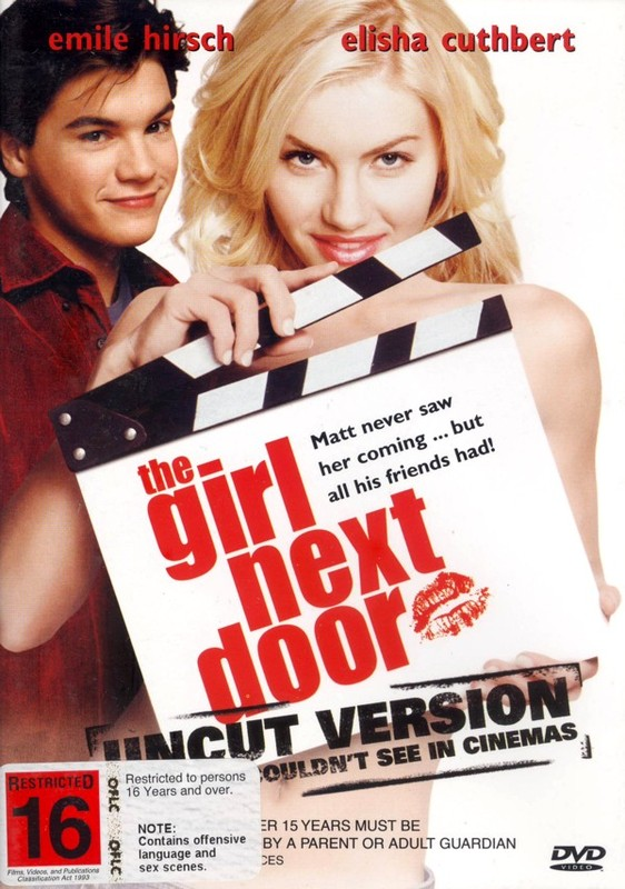 The Girl Next Door on DVD