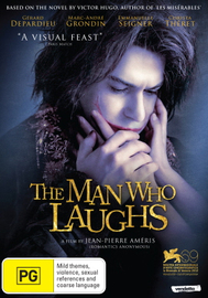 The Man Who Laughs on DVD