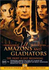 Amazons & Gladiators on DVD