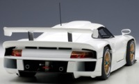 Autoart: 1/18 Porsche 911 GT1 1997 (Plain White)