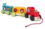 Le Toy Van: Petilou - Stacking Train Woodland Express