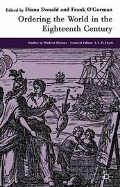 Ordering the World in the Eighteenth Century by Frank O'Gorman image