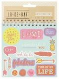 La De Dah: Sticker Flip Book - Icons & Phrases