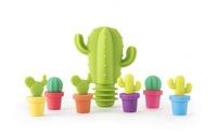 TrueZoo: Cactus Stopper & Charm Set - (7-pc)
