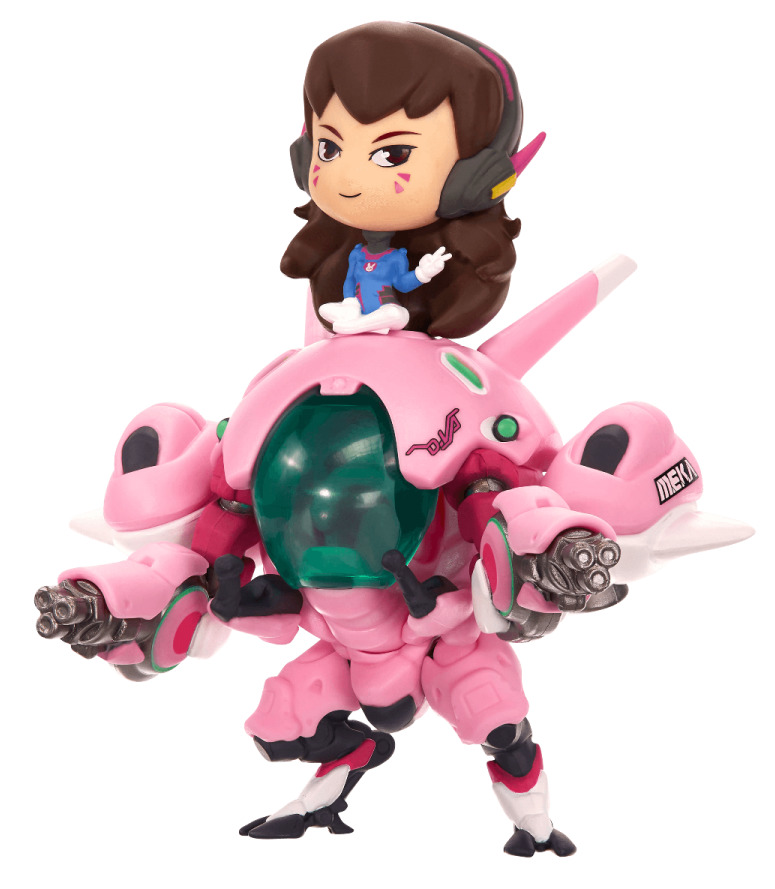 Overwatch: Cute but Deadly - D.Va (with Meka) Figure image