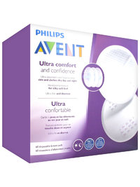 Avent: Disposable Breast Pads - Day (60 Pads) image