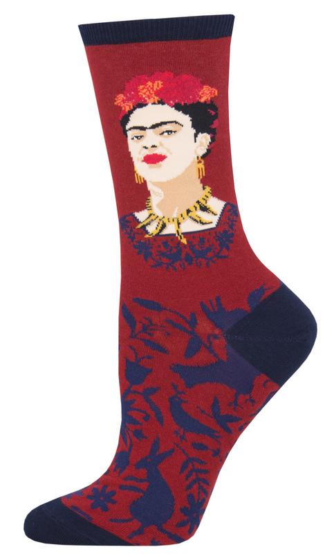 Socksmith: Womens Fearless Frida - Red