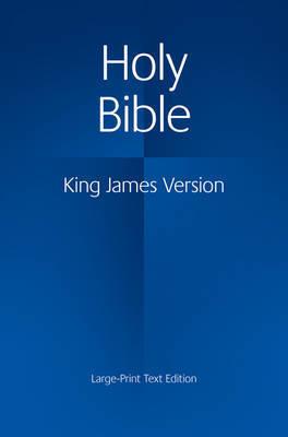 KJV Large Print Text Bible KJ650:T