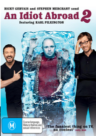 An Idiot Abroad - 2 (2 Disc Set) on DVD