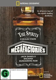 National Geographic: Megafactories - The Spirits Collection on DVD