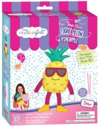 My Studio Girl: Foodie Pillows - Pineapple Sewing Kit