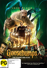 Goosebumps on DVD