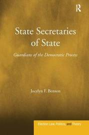 State Secretaries of State by Jocelyn F. Benson image