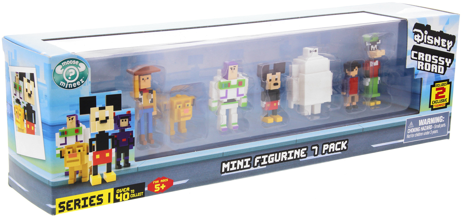 Disney: Crossy Road Minifigure - 7 Pack image