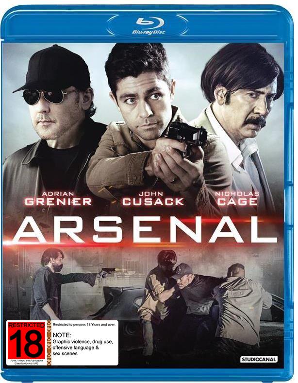 Arsenal on Blu-ray