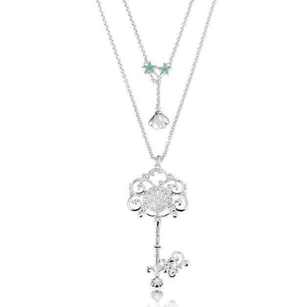 Couture Kingdom: Disney - Princess Ariel Necklace (White Gold)