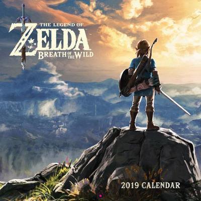 Legend of Zelda: Breath of the Wild 2019 Wall Calendar by Pokemon