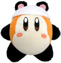"""Kirby Plush Waddle Dee Panda 7"""""""