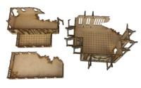 TTCombat: Tabletop Scenics - Gothic Ruined Officium image