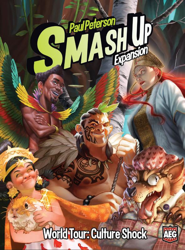 Smash Up: World Tour - Culture Shock - Expansion Set