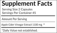Grenera Apple Cider Vinegar Capsules (90 Caps)
