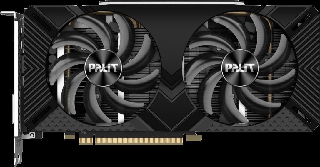 NVIDIA GeForce RTX 2060 SUPER DUAL 8GB Palit GPU image