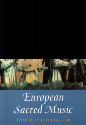 European Sacred Music: Vocal Score image