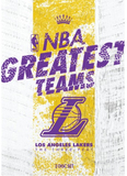 NBA Greatest Teams Los Angeles Lakers: The Three-Peat on DVD