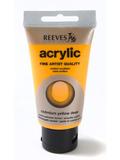 75ml Reeves Fine Acrylic - Deep Cadmium Yellow