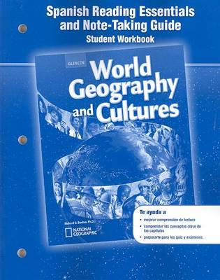 World Geography and Cultures, Spanish Reading Essentials and Note-Taking Guide by McGraw Hill image