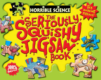 The Seriously Squishy Jigsaw Book by Nick Arnold image