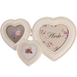Triple Heart Photo Frame