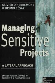 Managing Sensitive Projects by Olivier D'Herbemont image