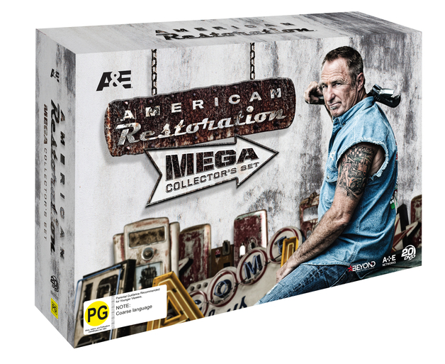 American Restoration Mega Collector's Set on DVD