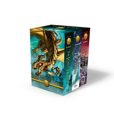 The Heroes of Olympus Box Set (Books 1-3, Paperback) by Rick Riordan image