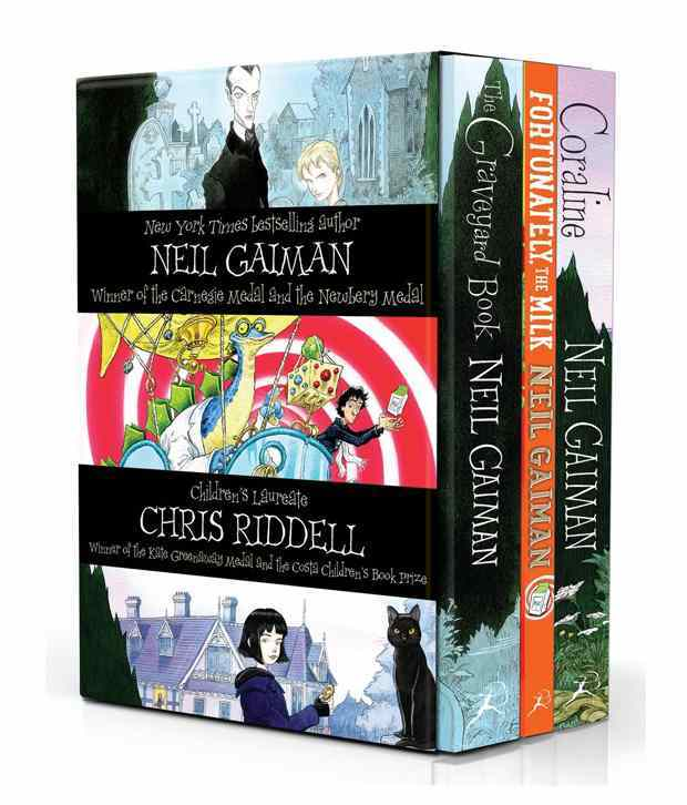 Neil Gaiman & Chris Riddell Box Set by Neil Gaiman