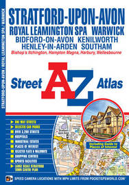 Stratford Upon Avon Street Atlas by Geographers A-Z Map Company