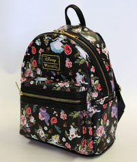 Loungefly: Disney Alice Floral Characters - Mini Backpack
