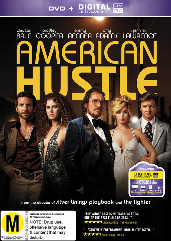 American Hustle on DVD
